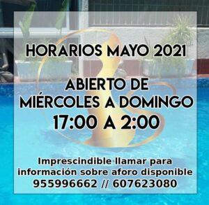 Horarios de Mayo 2021