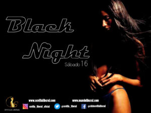 Lee más sobre el artículo BLACK NIGHT-SÁBADO 16 OCTUBRE